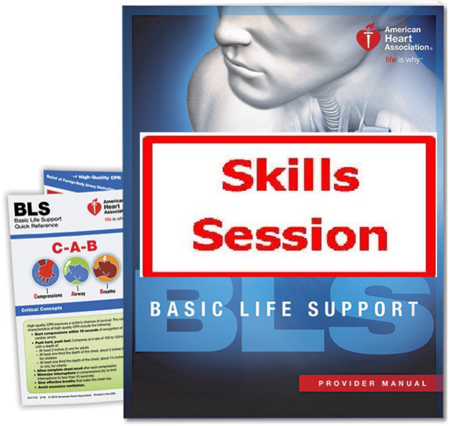 bls skills heart association healthcare aha check session heartcode providers basic support cpr training hands student visalia certificate completion colorado